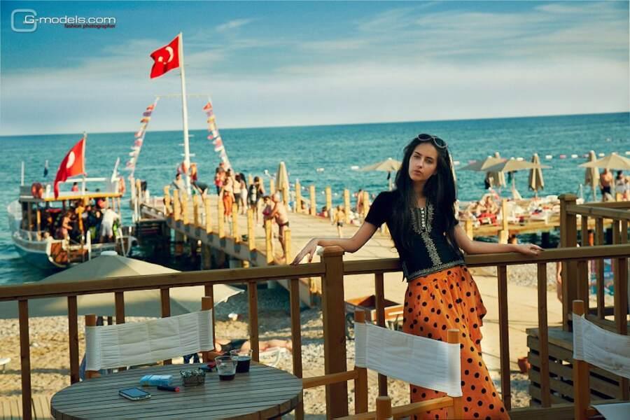 Катя Мирецкая Турция причал