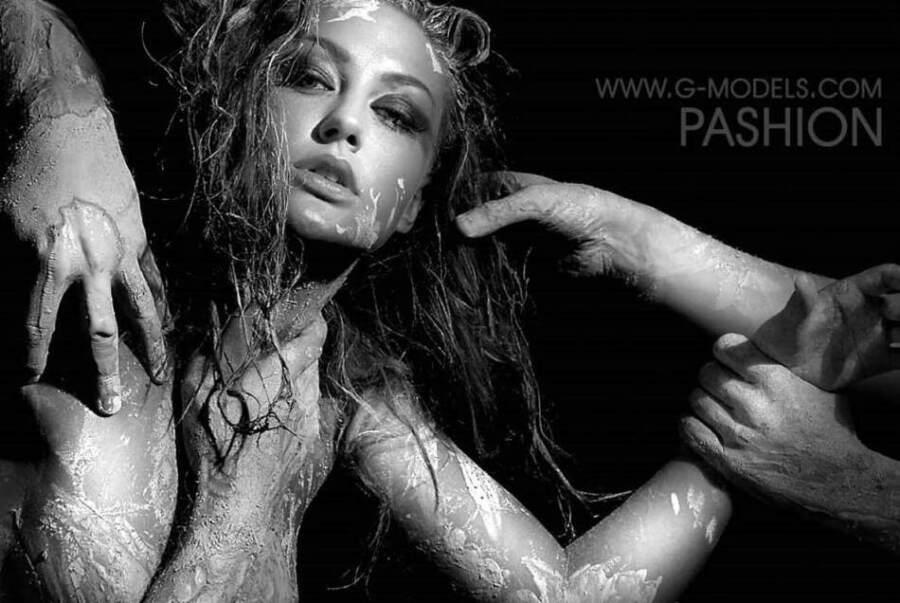 ВИАГРА. Солистка Ева Бушмина. Фото студии G-Models