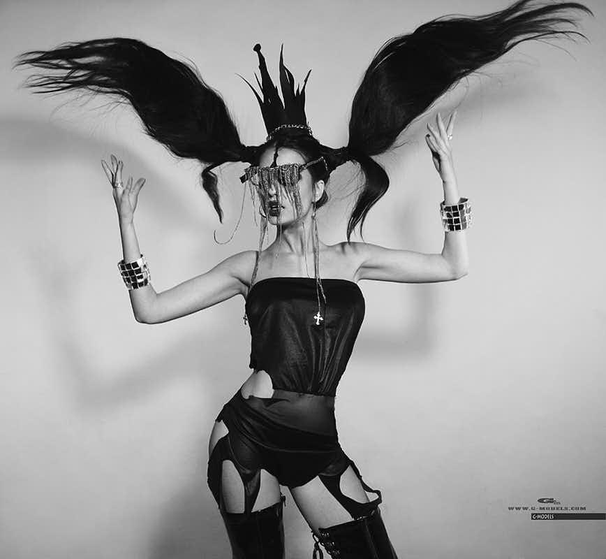Катя Мирецкая (Леди Гага). Фотограф Хмельницкий
