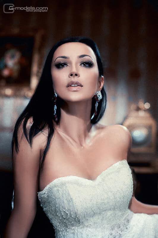 Наталья Ворона (реклама свадебный платьев Slanovskiy)