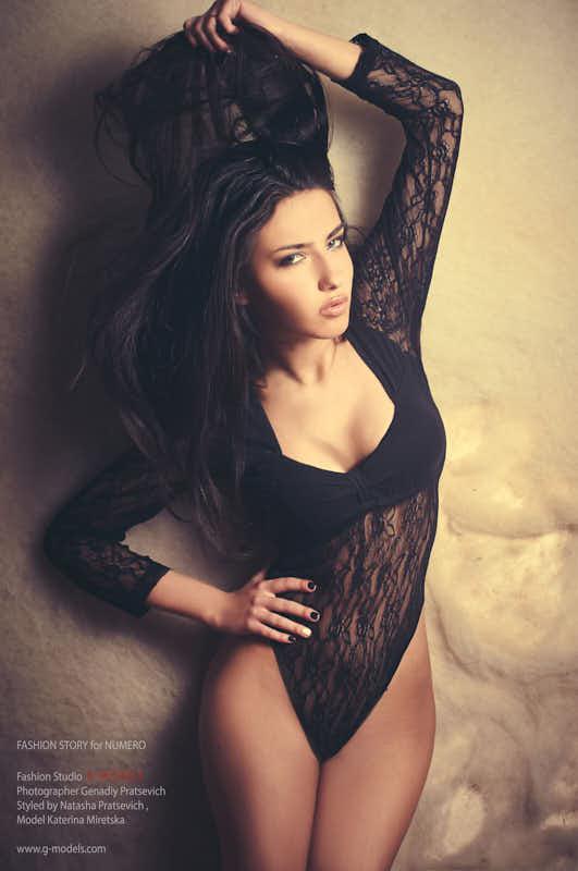Катя Мирецкая студийное фото
