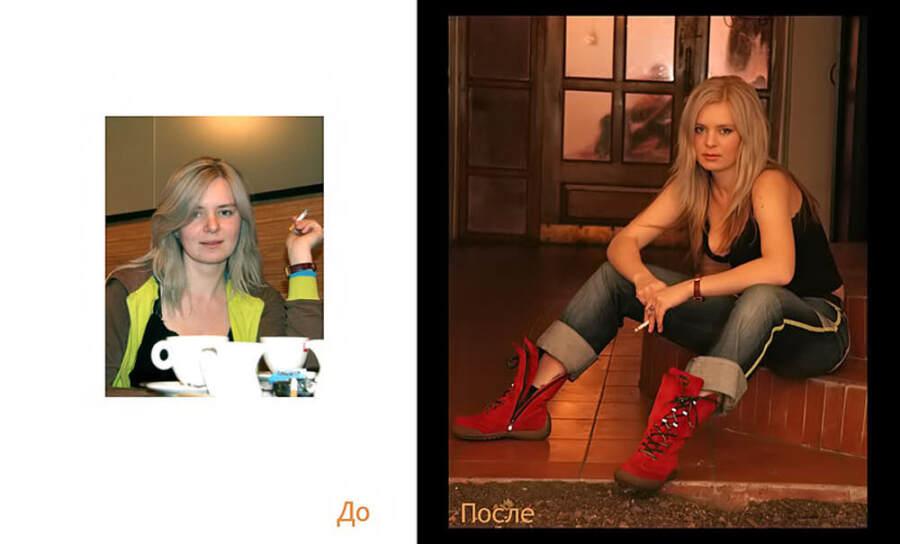 До и После. Фотограф Хмельницкий