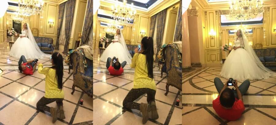 Мы на съёмке Одесса Бристоль. Катя Мирецкая фотографирует