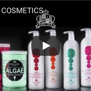 Реклама косметитки для волос Kallos